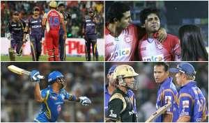 मैदान पर मारपीट को तैयार हो गए खिलाड़ी, IPL की 5 बड़ी लड़ाइयां
