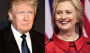 चुनाव पूर्व ताजा सर्वेक्षण में हिलेरी क्लिंटन डोनाल्ड ट्रंप से पांच अंक आगे