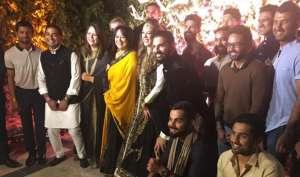 युवराज की शादी में कप्तान विराट कोहली ने लगाएं पंजाबी गाने में ठुमके, देखें वीडियो