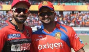 IPL10: आज देगें बेंगलोर के चैलेंजर्स गुजरात के लायंस को टक्कर
