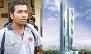 कभी स्कूल की फ़ीस भी न भर पाने वाले रोहित शर्मा के फ़्लैट की क़ीमत जानकर रह जाएंगे दंग