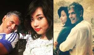 51 साल के मिलिंद सोमन को मिला अपनी से आधी उम्र की लड़की का साथ