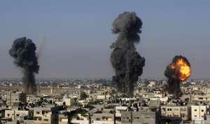 मिसाइल दागे जाने के बाद इजरायल ने किया गाजा पर हमला: सेना