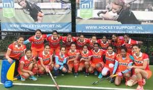 भारतीय महिला टीम ने बेल्जियम की जूनियर पुरुष टीम को 4-3 से हराया