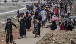 रोहिंग्या संकट: पति का शव गांव में छोड़ बांग्लादेश भाग आई म्यांमार की नसीमा