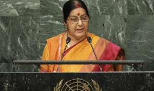 सुषमा स्वराज ने की पांच देशों के अपने समकक्षों के साथ बैठक, कई मुद्दों पर हुई चर्चा