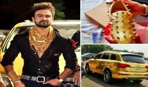 ये है भारत का 'गोल्डन बॉय', इनके पास है सोने के जूते से लेकर सोने की कार