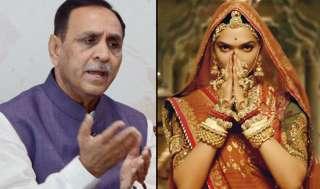 'पद्मावती' पर CM विजय रुपाणी का बड़ा बयान, गुजरात में भी बैन हुई फिल्म