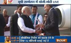 पीएम मोदी का स्वागत...- IndiaTV Paisa
