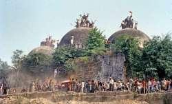 बाबरी मस्जिद का ढांचा।- IndiaTV Paisa