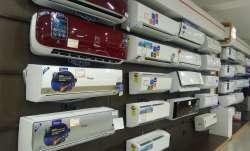 Air conditioners on display- IndiaTV Paisa