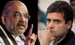 Amit Shah and Rahul Gandhi | PTI Photos- IndiaTV Paisa