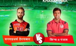 live cricket score sunrisers hyderabad vs kings xi punjab- IndiaTV Paisa