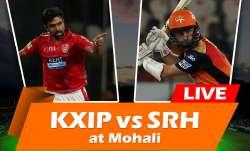 लाइव क्रिकेट मैच स्कोर, किंग्स XI पंजाब बनाम सनराइज़र्स हैदराबाद मोहाली 16वां आईपीएल मैच- IndiaTV Paisa
