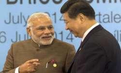 Modi-Xi jinping- IndiaTV Paisa