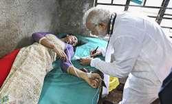 Prime Minister Narendra Modi visits a woman, who...- IndiaTV Paisa