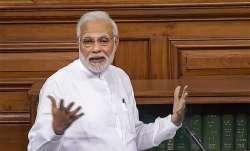 PM modi speech on no confidence motion- IndiaTV Paisa