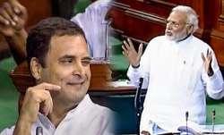 PM मोदी ने पकड़ी कांग्रेस अध्यक्ष की आंखों की हरकत, कहा- राहुल तो बच्चे हैं जी- IndiaTV Paisa