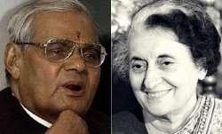 Atal Bihari Vajpayee and Indira Gandhi | PTI- IndiaTV Paisa