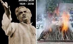 Atal Bihari Vajpayee's mortal remains consigned to flames with full state honours- IndiaTV Paisa