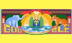 गूगल डूडल भारत के 72वें स्वतंत्रता दिवस को समर्पित, दी देशवासियों को शुभकामनाएं- IndiaTV Paisa