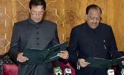 Imran Khan stumbles over Urdu words while taking oath as Pakistan PM | AP- IndiaTV Paisa