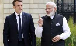Indian Prime Minister Narendra Modi with French...- IndiaTV Paisa