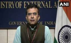 <p>MEA spokesperson Raveesh...- IndiaTV Paisa