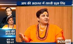Sadhvi Pragya in Aap Ki Adalat: 'Terrorism has no religion, traitors must be punished' - India TV Paisa