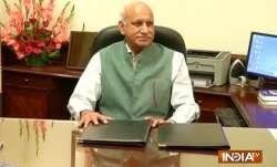 MJ Akbar Resigns - India TV Paisa