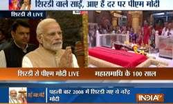 PM Modi at Shirdi Temple- India TV Paisa