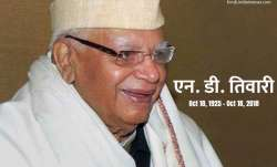 ND Tiwari passes away- India TV Paisa