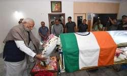 केंद्रीय मंत्री अनंत कुमार का आज होगा अंतिम संस्कार, पीएम मोदी ने दी श्रद्धांजलि- India TV Paisa