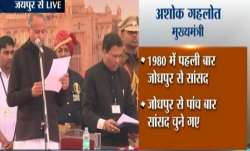 Congress CMs' swearing-in ceremony LIVE updates: Ashok Gehlot takes oath as 12th Chief Minister of R- India TV Paisa