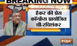 Ravi Shankar Prasad Statement on EVM Hacking - India TV Paisa