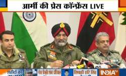 Army, CRPF and Police Press Conference after Pulwama Attack- India TV Paisa
