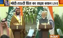 Saudi Crown Prince Mohammad bin Salman and PM Narendra Modi- India TV Paisa