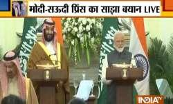 Saudi Crown Prince Mohammad bin Salman and PM Narendra Modi- India TV Paisa