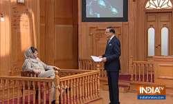 भारत और पाकिस्तान के बीच युद्ध की कोई संभावना नहीं: 'आप की अदालत' में महबूबा मुफ्ती - India TV Paisa
