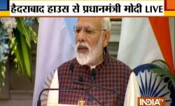 PM Modi lashes out at Pakistan in Hyderabad House- India TV Paisa