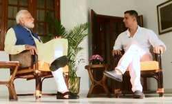 Akshay Kumar interview with PM Narendra Modi- India TV Paisa