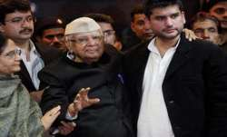 ND Tiwari and Rohit Shekhar Tiwari File Photo- India TV Paisa