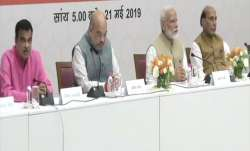 Union Council of Minsters meeting at BJP office in Delhi- India TV Paisa