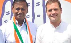 Udit Raj with Rahul Gandhi | Twitter- India TV Paisa