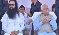 Haryana Government did not decided yet on Parole application of Ram Rahim says CM Manohar Lal - India TV Paisa