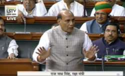Defense Minister Rajnath Singh's Statement on Kashmir issue in Lok Sabha - India TV Paisa