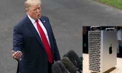 Trump warns Apple, Apple won't get tariff exemption for Mac Pro parts coming from China - India TV