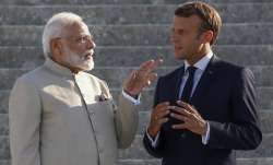 French President Emmanuel Macron and...- India TV Paisa