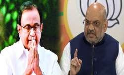 पी चिदंबरम VS अमित शाह: पूर्व गृहमंत्री ने सोचा नहीं होगा समय का कालचक्र ऐसे घूमेगा- India TV Paisa