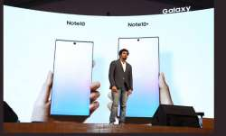 Samsung eyes 65 pc mkt share of India's premium smartphone mkt; unveils Note 10, Note 10+- India TV Paisa